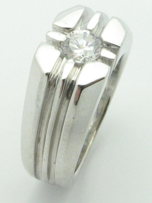 11555 14K WHITE GOLD DIAMOND RING